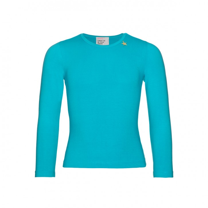 Mim-Pi Langarm-Shirt/Longsleeve türkis