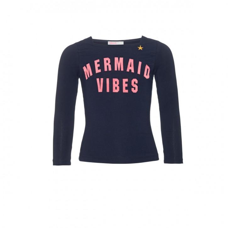 Mim-Pi Langarm-Shirt/Longsleeve MERMAID VIBES blau