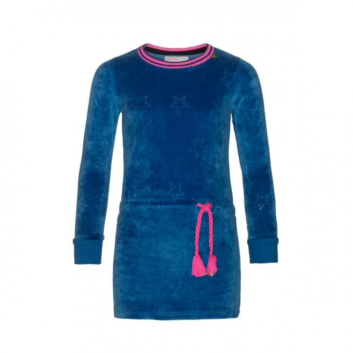Mim-Pi Nicki-Langarm-Kleid blau