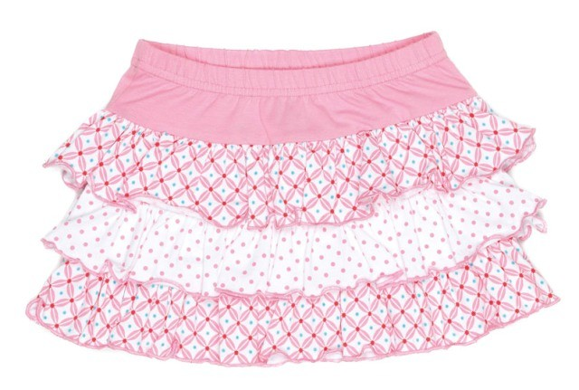 Mim-Pi Rock Muster-Mix rosa-weiß