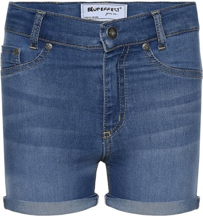 Blue Effect Mädchen High-Waist Jeans Short medium blue NORMAL