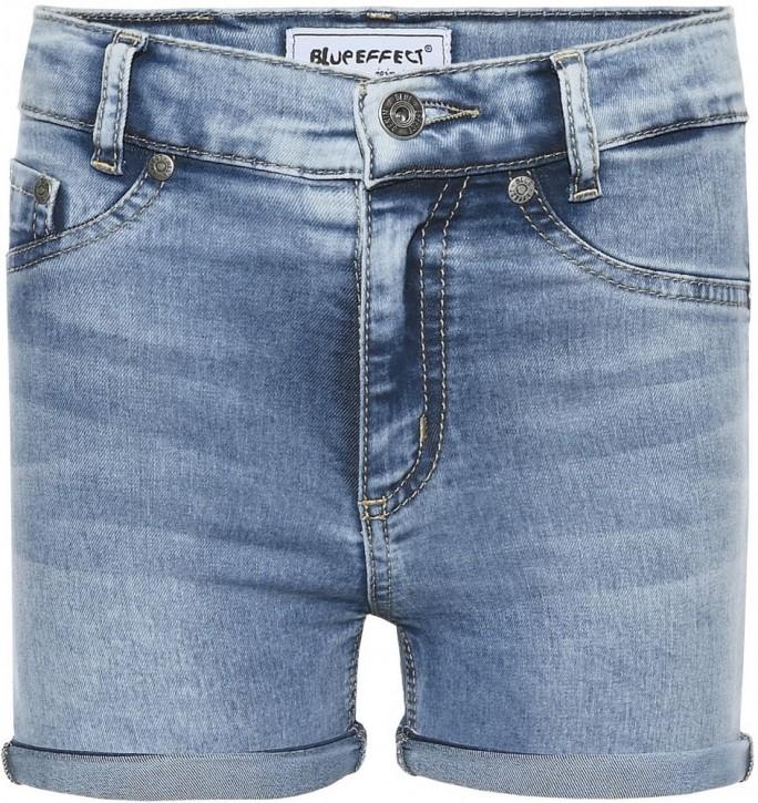 Blue Effect Mädchen High-Waist Jeans Short light blue NORMAL