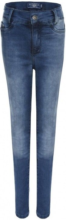 Blue Effect Mädchen High-Waist Jeans ultrastretch medium blue NORMAL