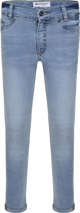 Blue Effect Mädchen cropped High-Waist Jeans light blue NORMAL