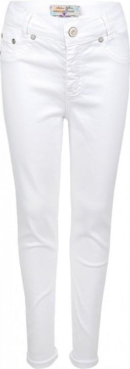 Blue Effect Mädchen High-Waist Jeans cropped schneeweiß SLIM