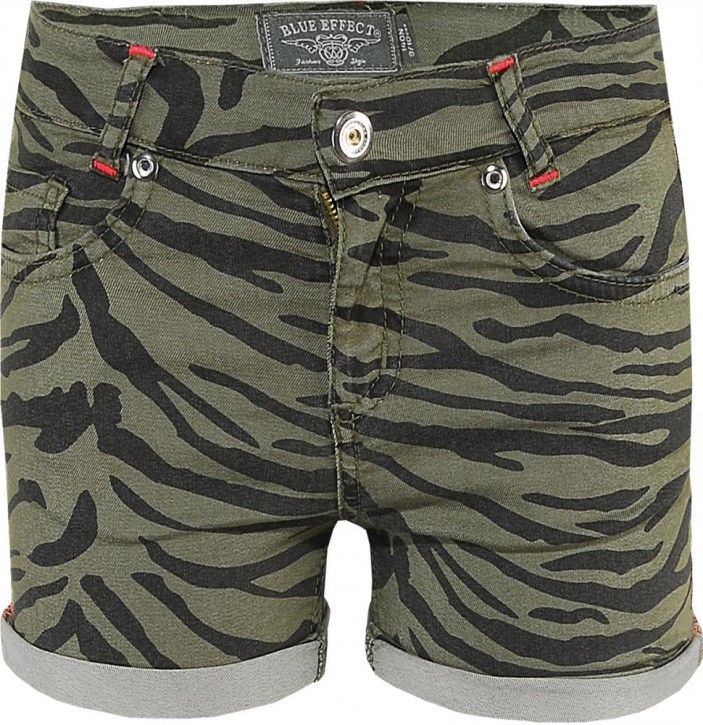 Blue Effect Mädchen Short Zebra khaki NORMAL