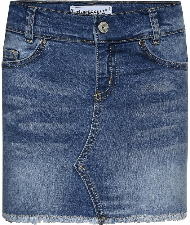 Blue Effect Mädchen Jeans Rock medium blue