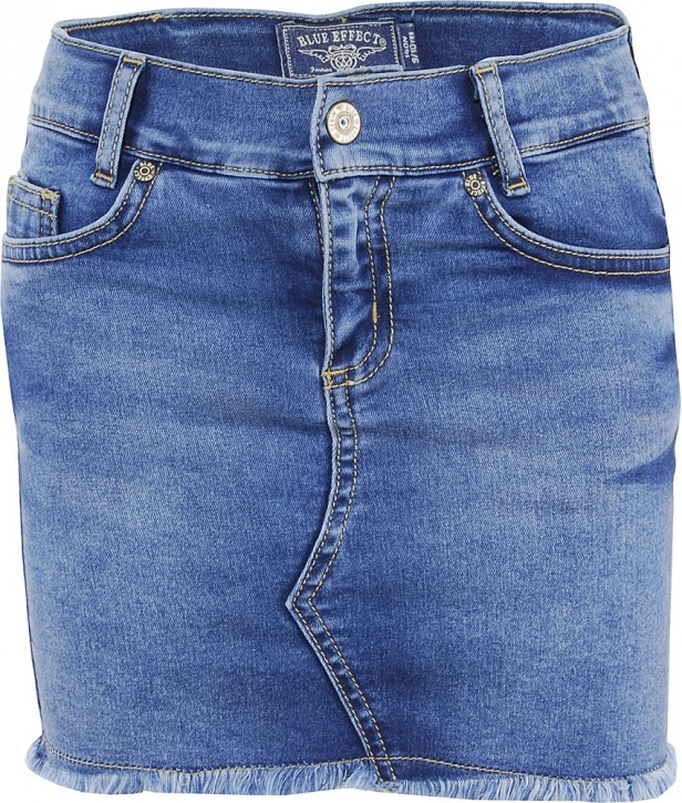 Blue Effect Mädchen Jeans Rock blue medium