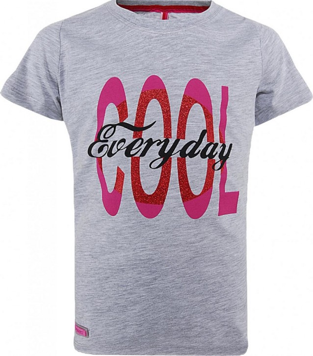 Blue Effect Mädchen T-Shirt COOL EVERYDAY hellgrau mele