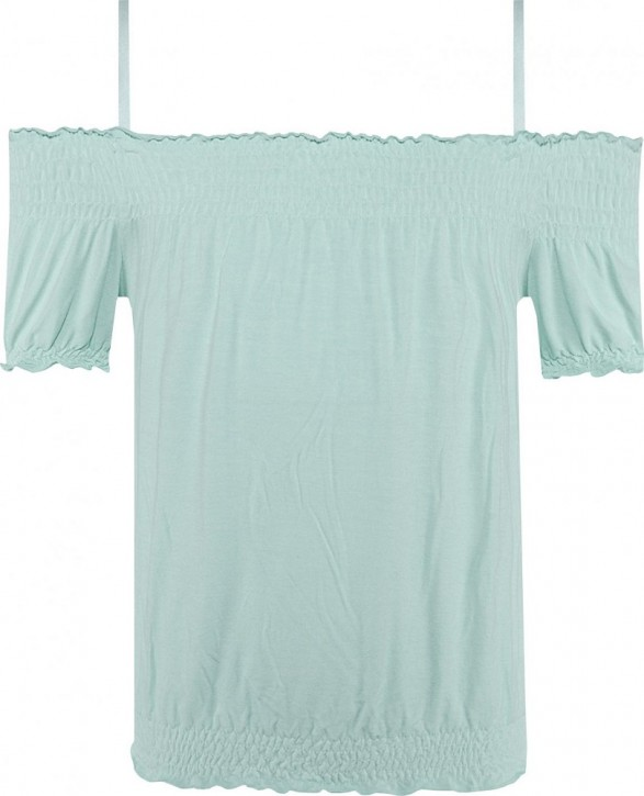 Blue Effect Mädchen Carmen-T-Shirt minze