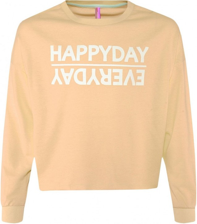 Blue Effect Mädchen Boxy-Sweat-Shirt HAPPYDAY neonorange