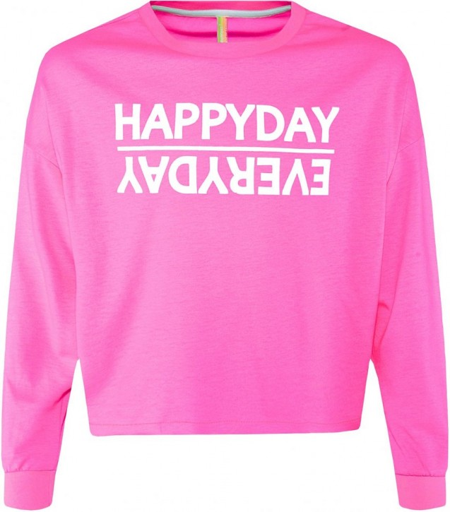 Blue Effect Mädchen Boxy-Sweat-Shirt HAPPYDAY neonpink