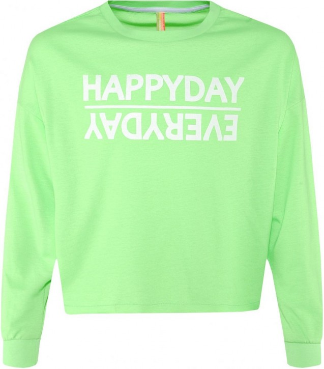 Blue Effect Mädchen Boxy-Sweat-Shirt HAPPYDAY neongrün