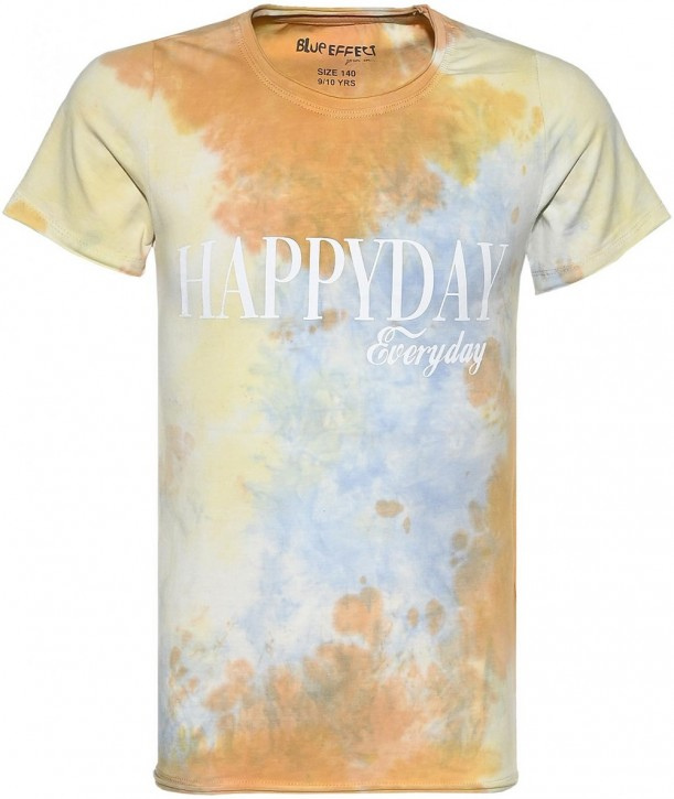 Blue Effect Mädchen T-Shirt HAPPYDAY colorful batik