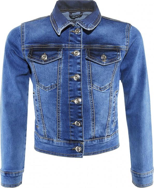 Blue Effect Mädchen Jeans-Jacke light blue