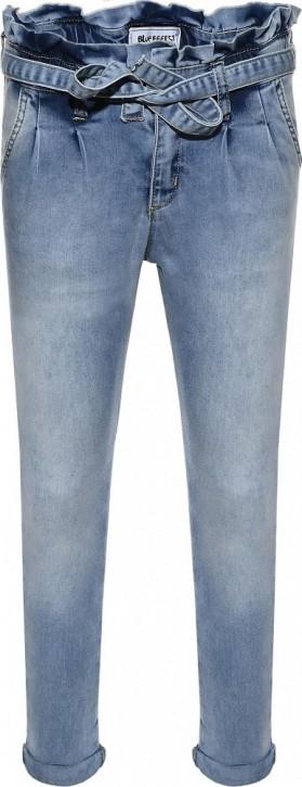 Blue Effect Mädchen Paperbag High-Waist Jeans light blue NORMAL