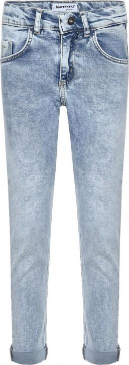 Blue Effect Mädchen cropped Balloon-Fit Jeans light blue Pfeffer u Salz NORMAL
