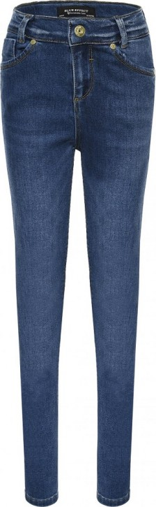 Blue Effect Mädchen High-Waist Jeans Recycled Sustainable medium blue NORMAL 146