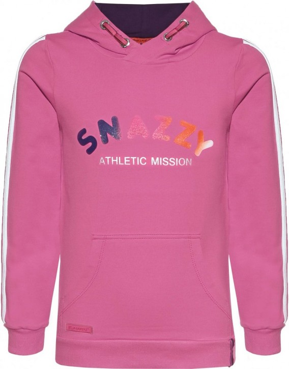 Blue Effect Mädchen Kapuzen-Sweat-Shirt / Hoodie Athletic-SNAZZY fuchsia