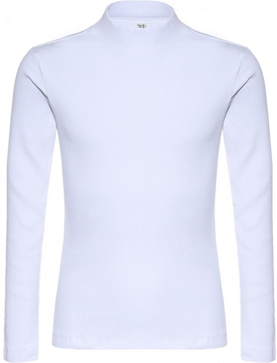 Blue Effect Mädchen Langarm-Shirt/Longsleeve schneeweiß