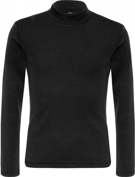 Blue Effect Mädchen Langarm-Shirt/Longsleeve schwarz