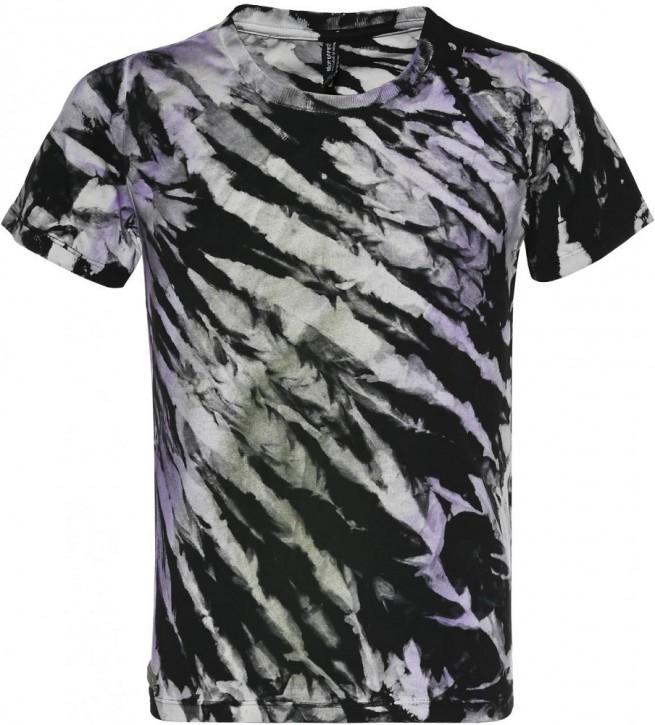 Blue Effect Mädchen T-Shirt Batic lila schwarz