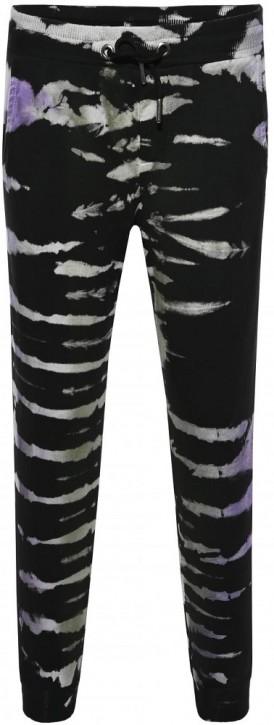 Blue Effect Mädchen Sweat-Hose/Joggpant Batic lila schwarz