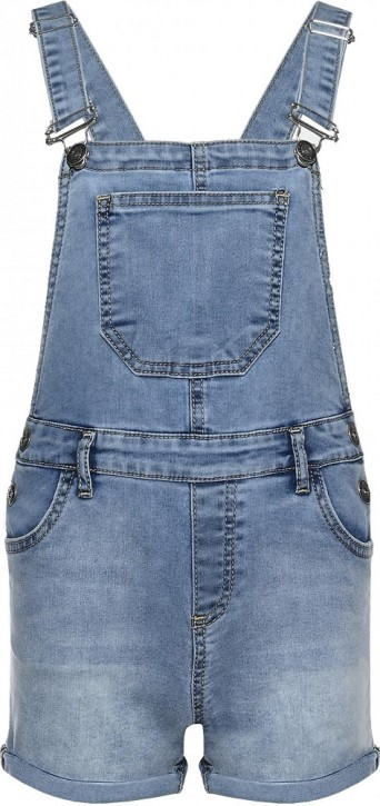 Blue Effect Mädchen Latzhose/Jeans Overall Short light blue