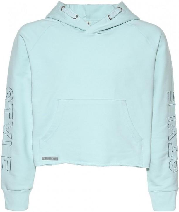 Blue Effect Mädchen Boxy Kapuzen-Sweat-Shirt / Hoodie STYLE mint