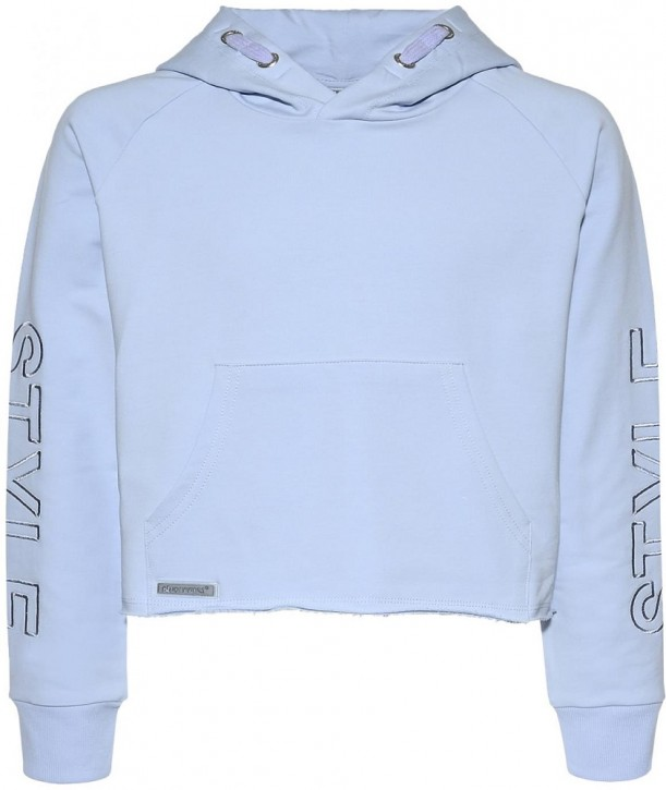 Blue Effect Mädchen Boxy Kapuzen-Sweat-Shirt / Hoodie STYLE softblau