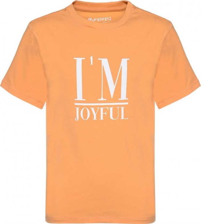 Blue Effect Mädchen T-Shirt I AM JOYFUL honigmelone