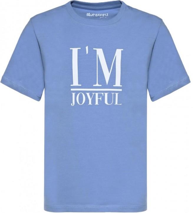 Blue Effect Mädchen T-Shirt I AM JOYFUL himmelblau