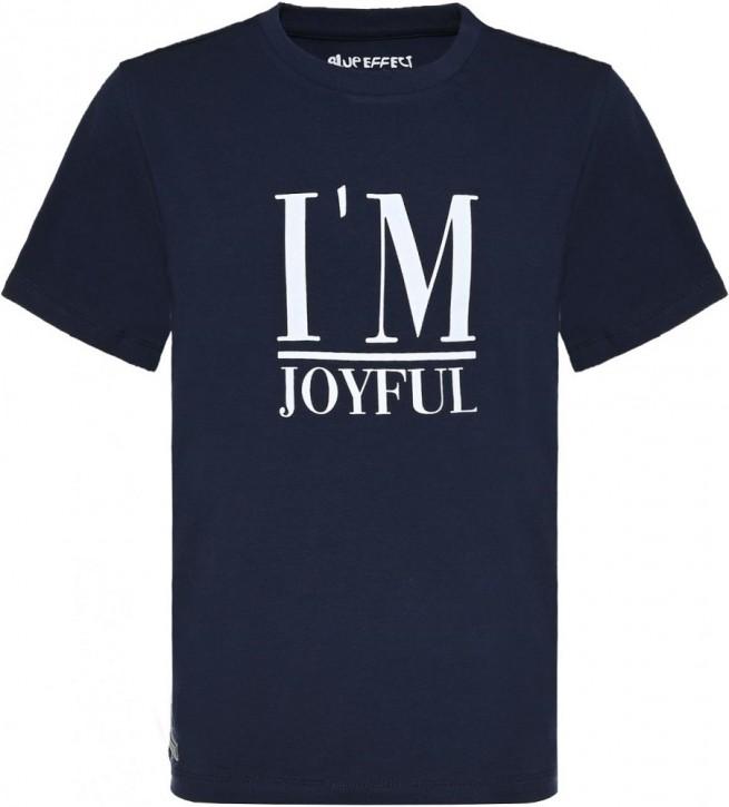 Blue Effect Mädchen T-Shirt I AM JOYFUL dunkelmarine