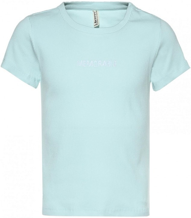 Blue Effect Mädchen geripptes T-Shirt MEMORABLE mint