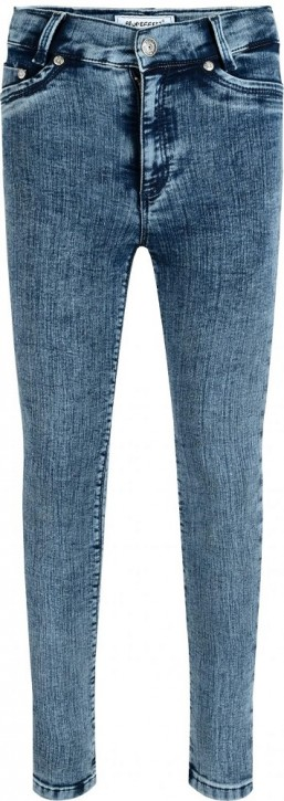 Blue Effect Mädchen High-Waist Jeans ultrastretch dark blue S&P NORMAL