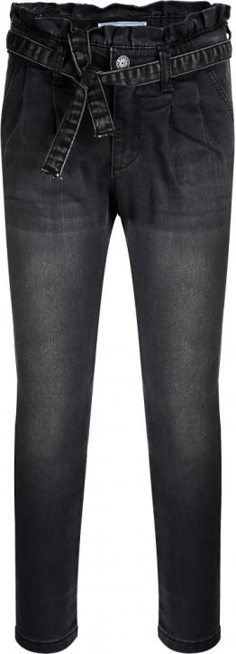 Blue Effect Mädchen Paperbag High-Waist Jeans black NORMAL