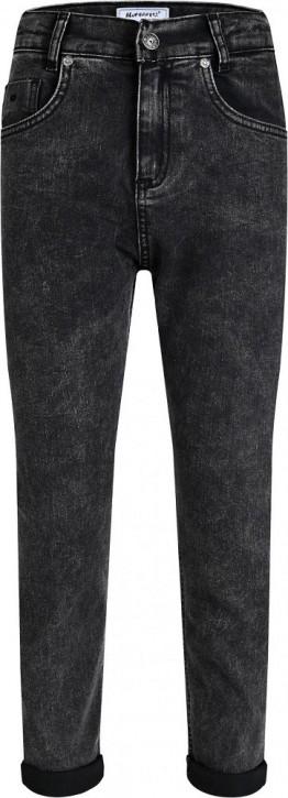 Blue Effect Mädchen cropped Balloon-Fit Jeans black Pfeffer u Salz NORMAL