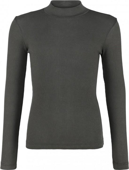 Blue Effect Mädchen geripptes Langarm-Shirt/Longsleeve dunkelgrün