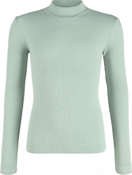 Blue Effect Mädchen geripptes Langarm-Shirt/Longsleeve moos