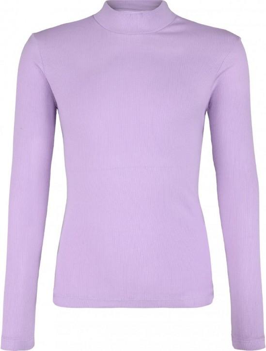 Blue Effect Mädchen geripptes Langarm-Shirt/Longsleeve violett