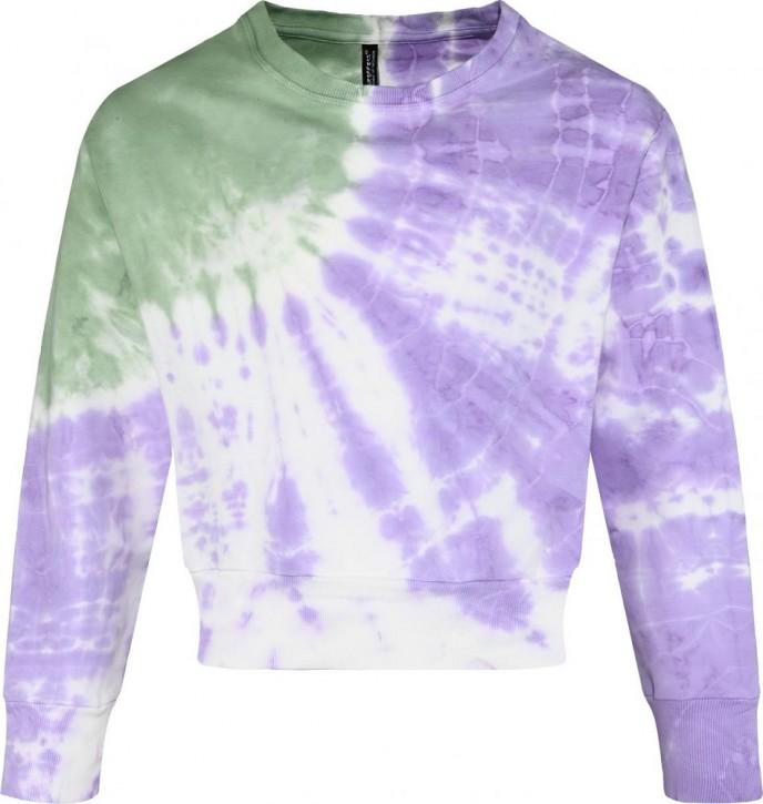 Blue Effect Mädchen Sweater Batik moos violett