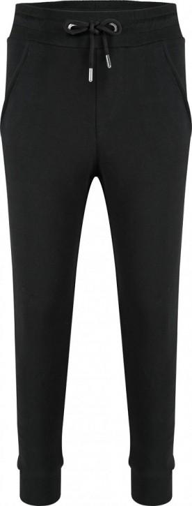 Blue Effect Mädchen High-Waist Sweat-Hose/Joggpant schwarz