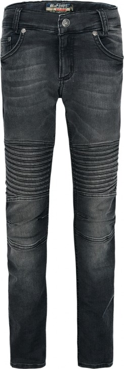 Blue Effect Jungen Ultrastretch Biker-Jeans black NORMAL