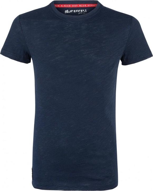Blue Effect Jungen Rundhals Basic T-Shirt nachtblau