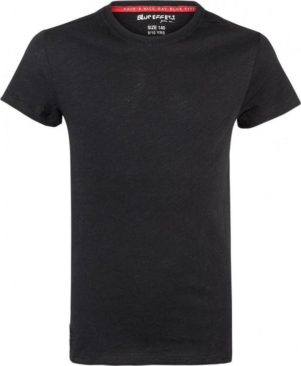 Blue Effect Jungen Rundhals Basic T-Shirt schwarz