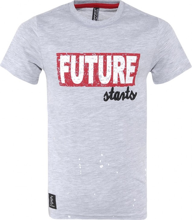 Blue Effect Jungen T-Shirt FUTURE hellgrau