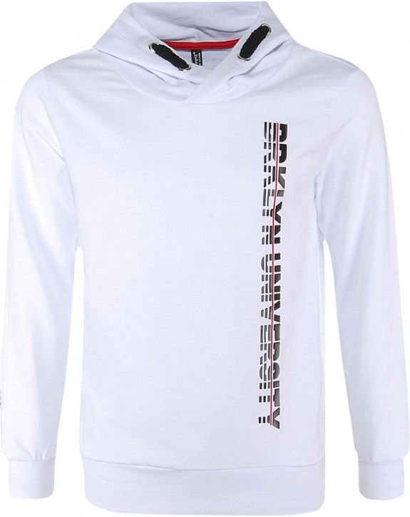 Blue Effect Jungen Kapuzen-Sweat-Shirt/Hoodie BRKLYN schneeweiß