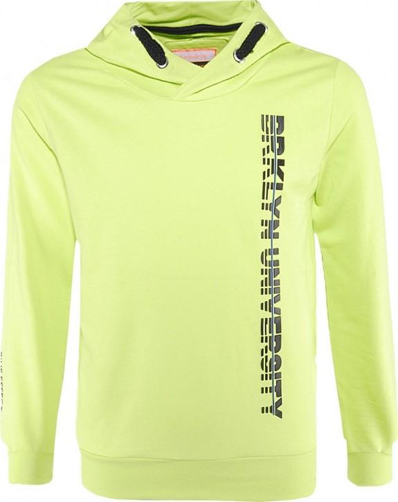 Blue Effect Jungen Kapuzen-Sweat-Shirt/Hoodie BRKLYN neon Apfel