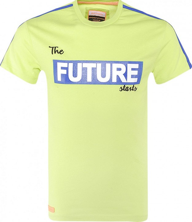 Blue Effect Jungen T-Shirt FUTURE Neon Apfel