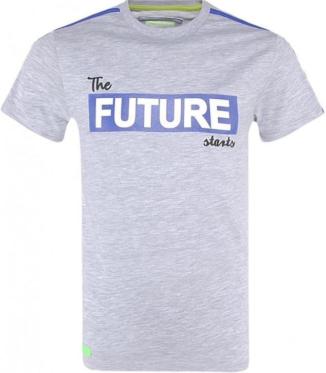 Blue Effect Jungen T-Shirt FUTURE hellgrau melange